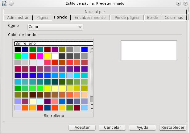 Insertar imagen de fondo en openOffice Writter | El blog de Hawk