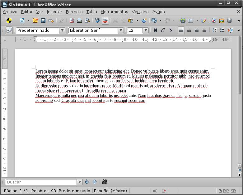 Lorem ipsum libreoffice tutorial
